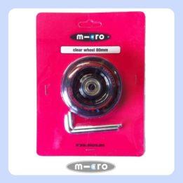 Micro Clear Wheel 80mm