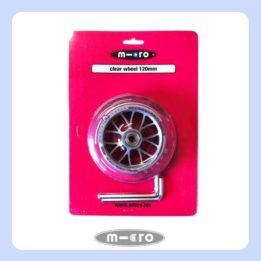 Micro Clear Wheel 120mm