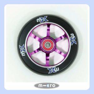 Micro mX Wheel 110mm Black-Purple