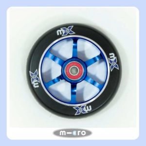 Micro mX Wheel 110mm Black-Blue