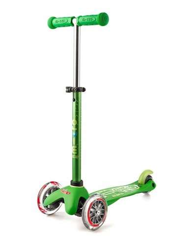 Mini Micro Deluxe Green | Micro Scooters Perth | Kids Scooter
