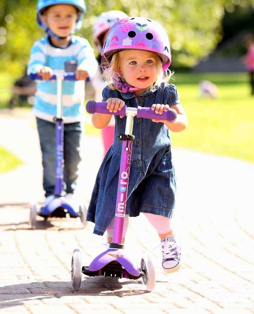 Mini Micro Deluxe Purple | Micro Scooters Perth | Kids Scooter