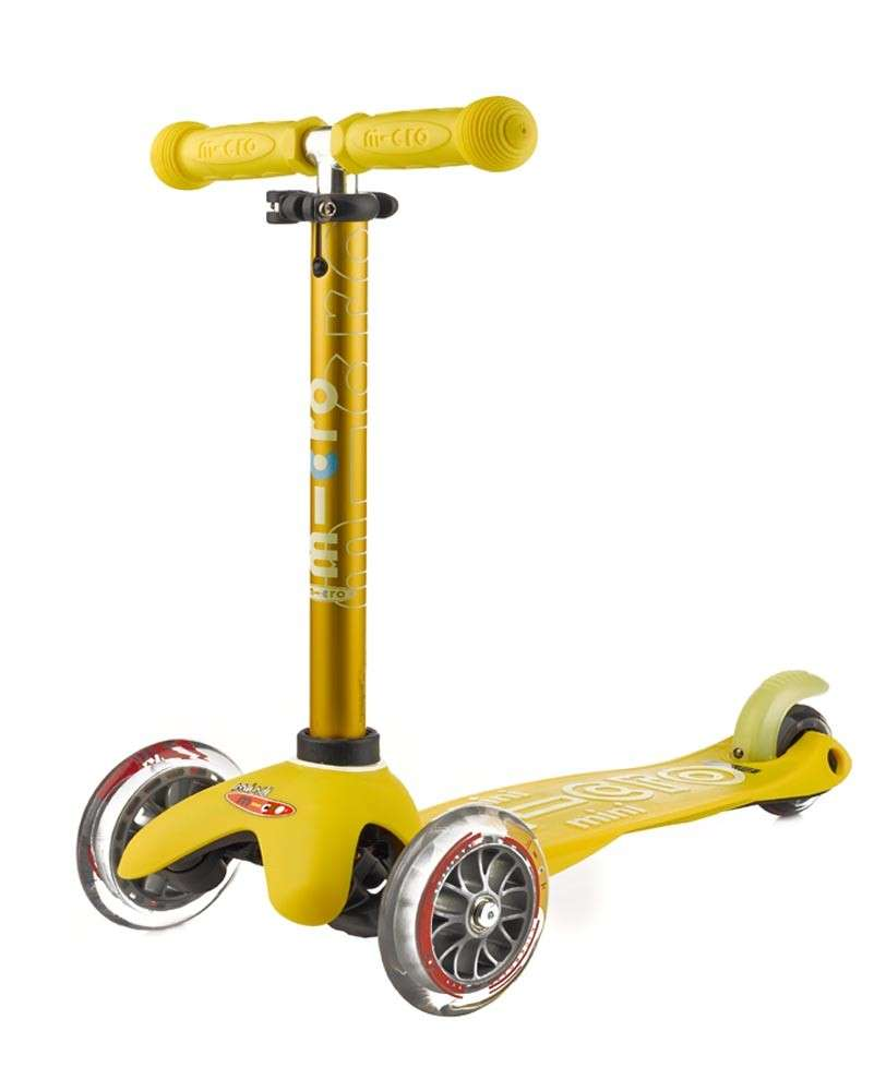 Mini Micro Deluxe Yellow | Micro Scooters Perth | Kids Scooter