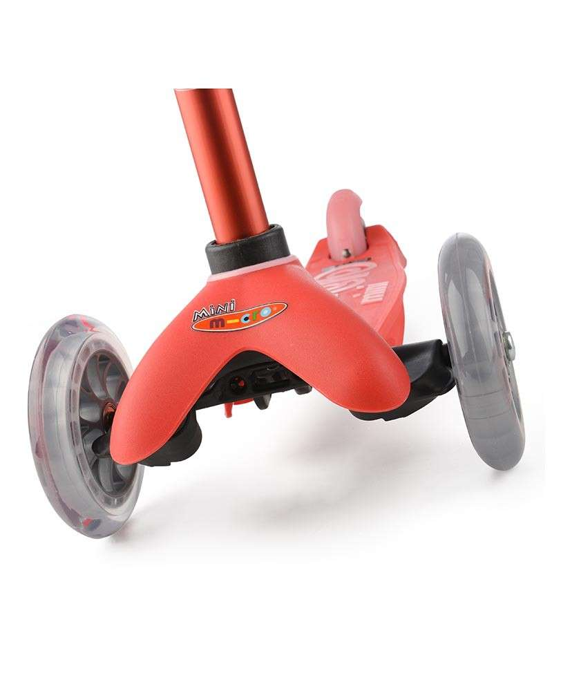 Mini Micro Deluxe Red   Micro Scooters Perth   Kids Scooters