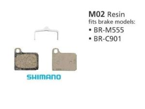 BR-M555 M02 Resin Disc Brake Pads | Y8B598040