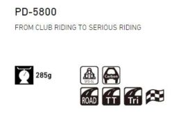 Shimano PD-5800 Pedals Icons