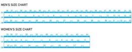 Shimano Shoe Size Chart