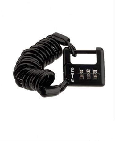 Micro Cable Lock Black
