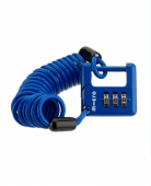 Micro Cable Lock Blue
