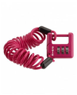 Micro Cable Lock Pink