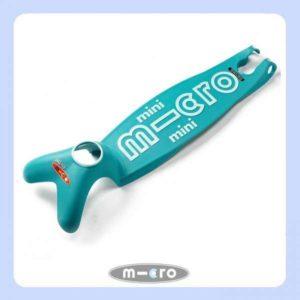 Mini Micro Deluxe Deck Aqua