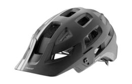 Giant Rail Helmet Black-Grey