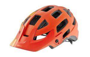 Giant Rail Helmet Orange-Yellow
