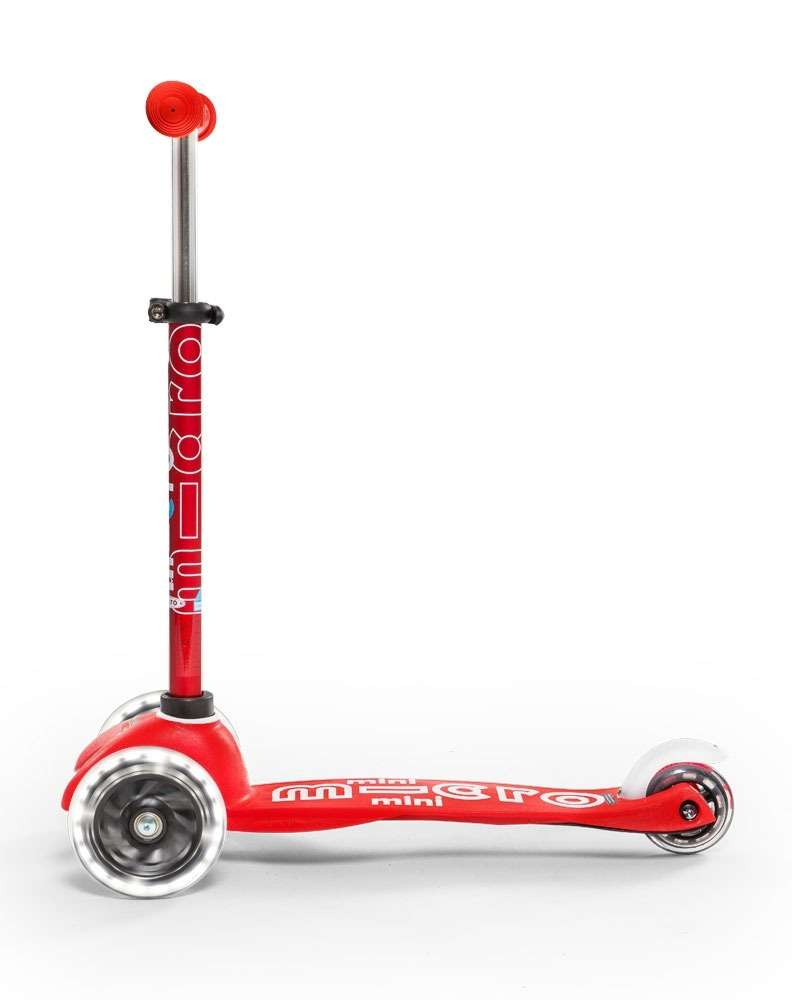 MMini Micro Deluxe LED Red | Micro Scooters Perth | Kids Scooters
