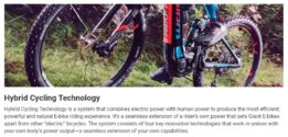 Giant Hybrid Cycling Technology