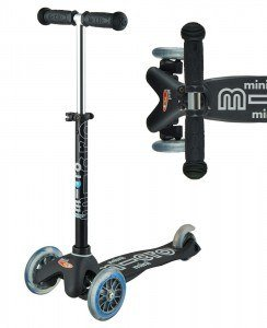 Mini Micro Deluxe Black | Micro Scooters Perth | Kids Scooters