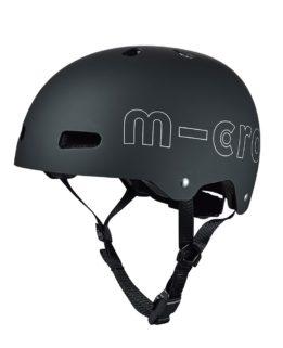 Micro Helmet Black Adult LG