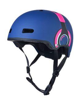 Micro Helmet Pink Headphones SM