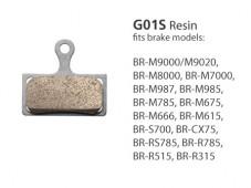 BR-M666 G01S Resin Disc Brake Pads | Y8KA98010
