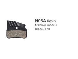 BR-M9120 N03A Resin Disc Brake Pads   Y1XD98010