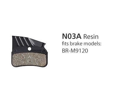 BR-M9120 N03A Resin Disc Brake Pads | Y1XD98010