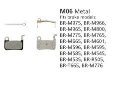 BR-M965 M06 Metal Disc Brake Pads | Y8CL98010