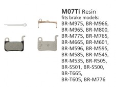 BR-M975 M07Ti Resin Disc Brake Pads | Y8E598020