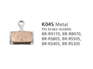 BR-R9170 K04S Metal Disc Brake Pads | Y8N398020