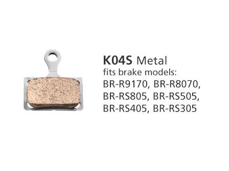 BR-R9170 K04S Metal Disc Brake Pads   Y8N398020