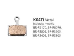 Shimano BR-R9170 K04Ti Metal Disc Brake Pads | Shimano Brake Pads