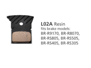 BR-R9170 L02A Resin Disc Brake Pads | Y8PU98040