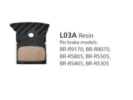 BR-R9170 L03A Resin Disc Brake Pads