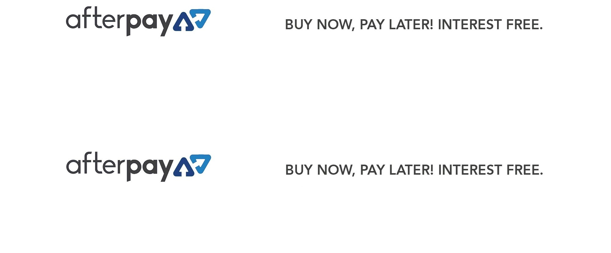 AfterPay Buy Now Pay Later Interest Free
