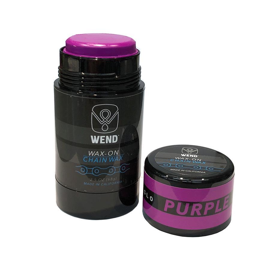 Wend Chain Lube Purple 80ml Wax On Stick Wend Wax