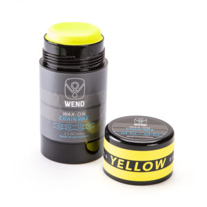 WEND Chain Lube Yellow 80ml Wax-On Stick