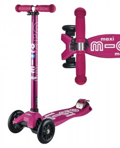 Maxi Micro Deluxe Berry Red | Micro Scooters Perth