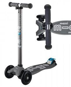 Maxi Micro Deluxe Volcano Grey | Micro Scooters Perth