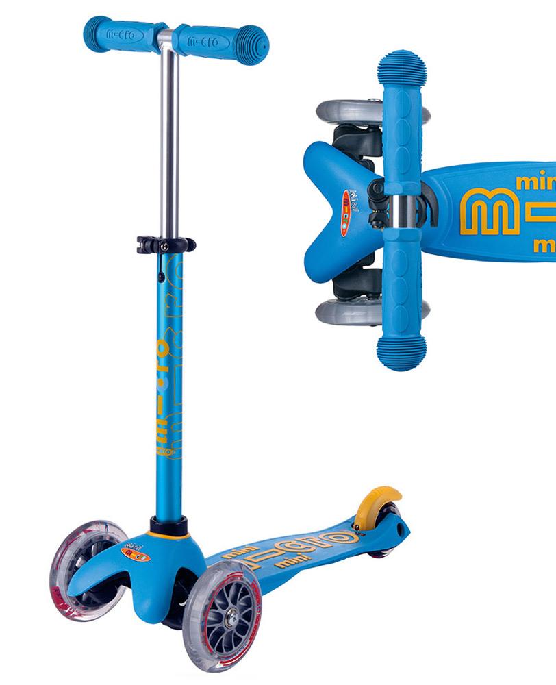 Mini Micro Deluxe Ocean Blue Micro Scooters Perth