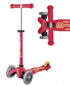 Mini Micro Deluxe Ruby Red | Micro Scooters Perth
