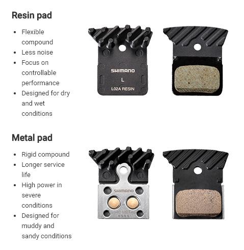Resin vs Metal