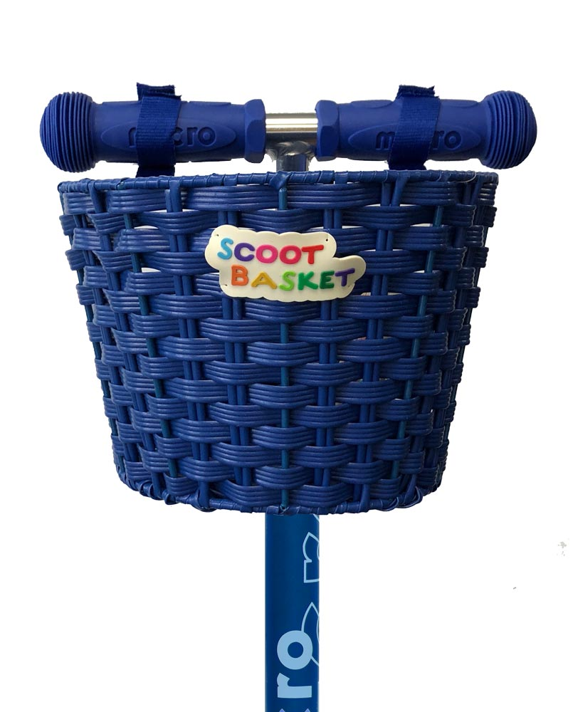 Micro Basket Blue | Micro Scooters Perth