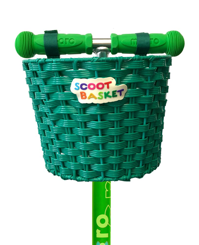 Micro Basket Green | Micro Scooters Perth