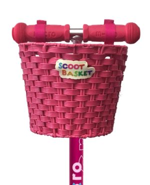 Micro Basket Pink | Micro Scooters Perth