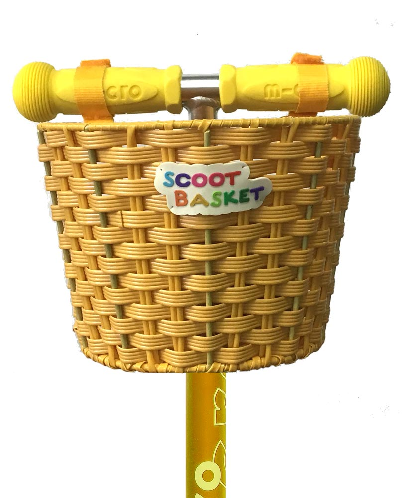 Micro Basket Yellow | Micro Scooters Perth