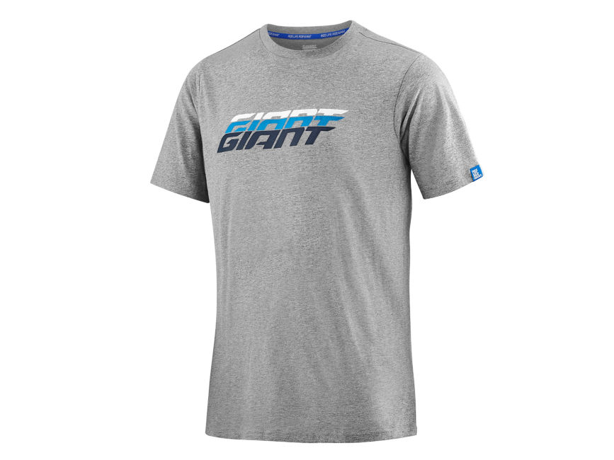 Giant Gradient T-Shirt Heather Grey