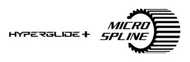 HyperGlide+ Micro Spline