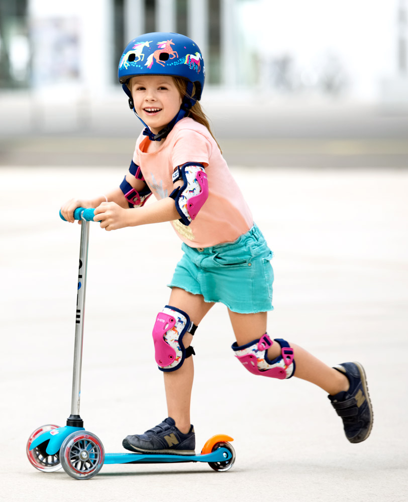 Micro Knee & Elbow Pads Unicorn | Micro Scooters Perth
