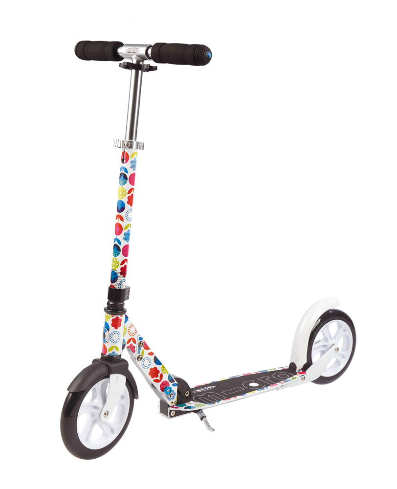 Micro White Floral | Micro Scooters Perth