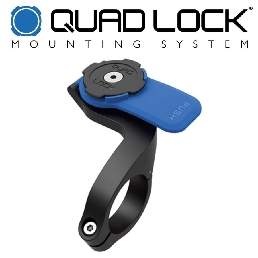 Quad Lock Out Front Handle Bar Mount | Mobile Phone Mounting System