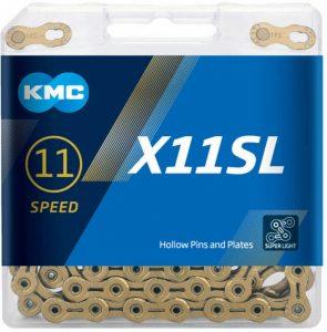 KMC X11SL CHAIN 11 SPEED GOLD